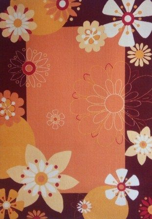 Moket carpet - Orange