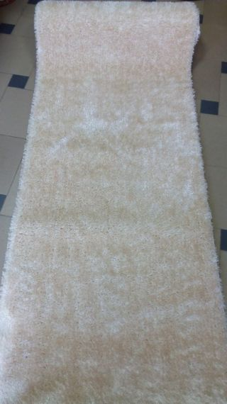 Paths Shaggy Kleio by the meter  - Beige
